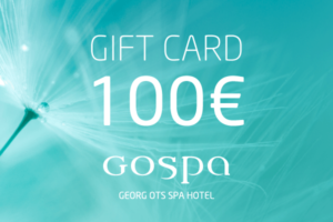 GOSPA giftcard 100eur